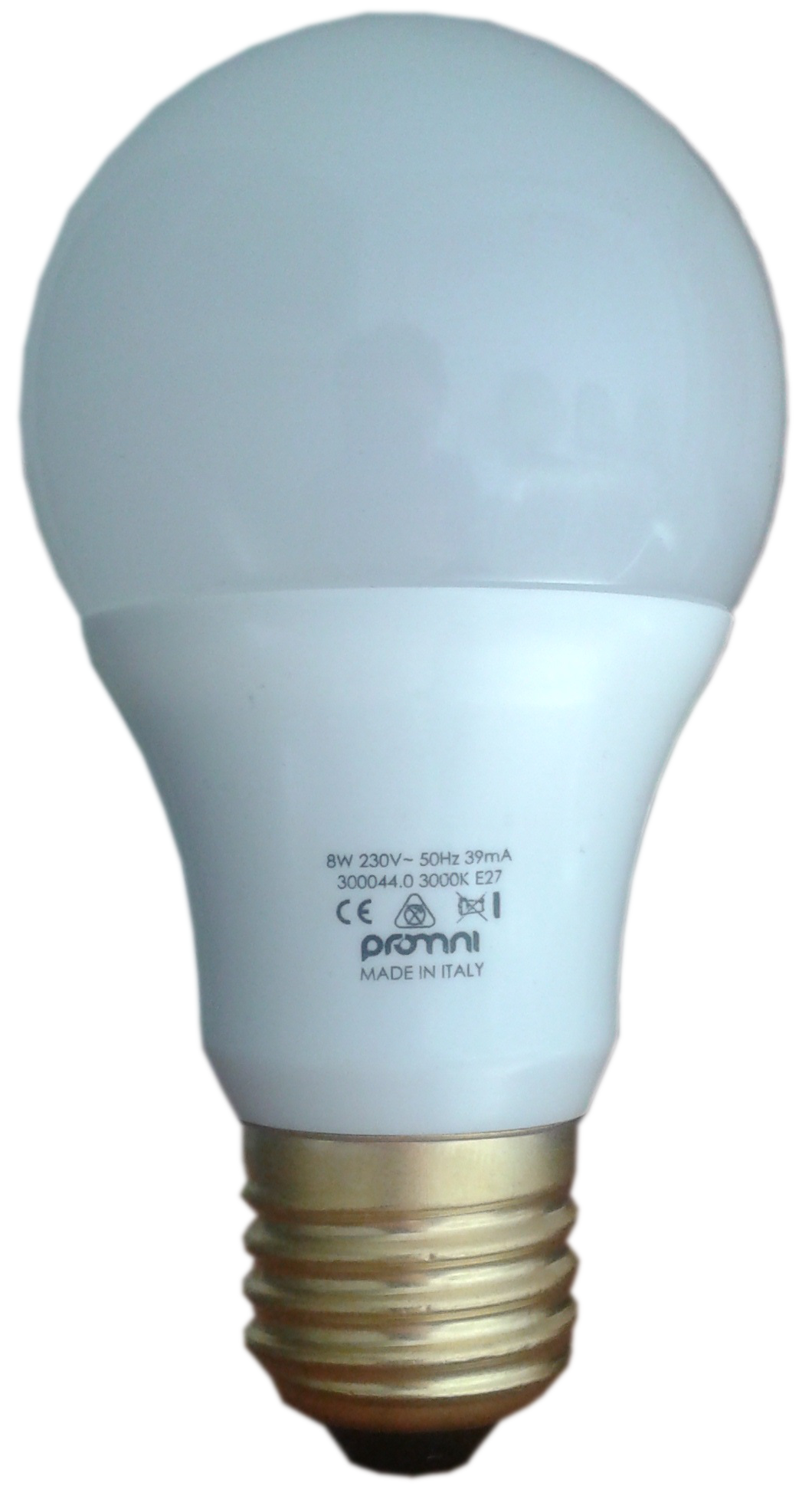 E27 LED Lamp 230V 8W Warm and Cold - LUXINO E27 8W 3000K