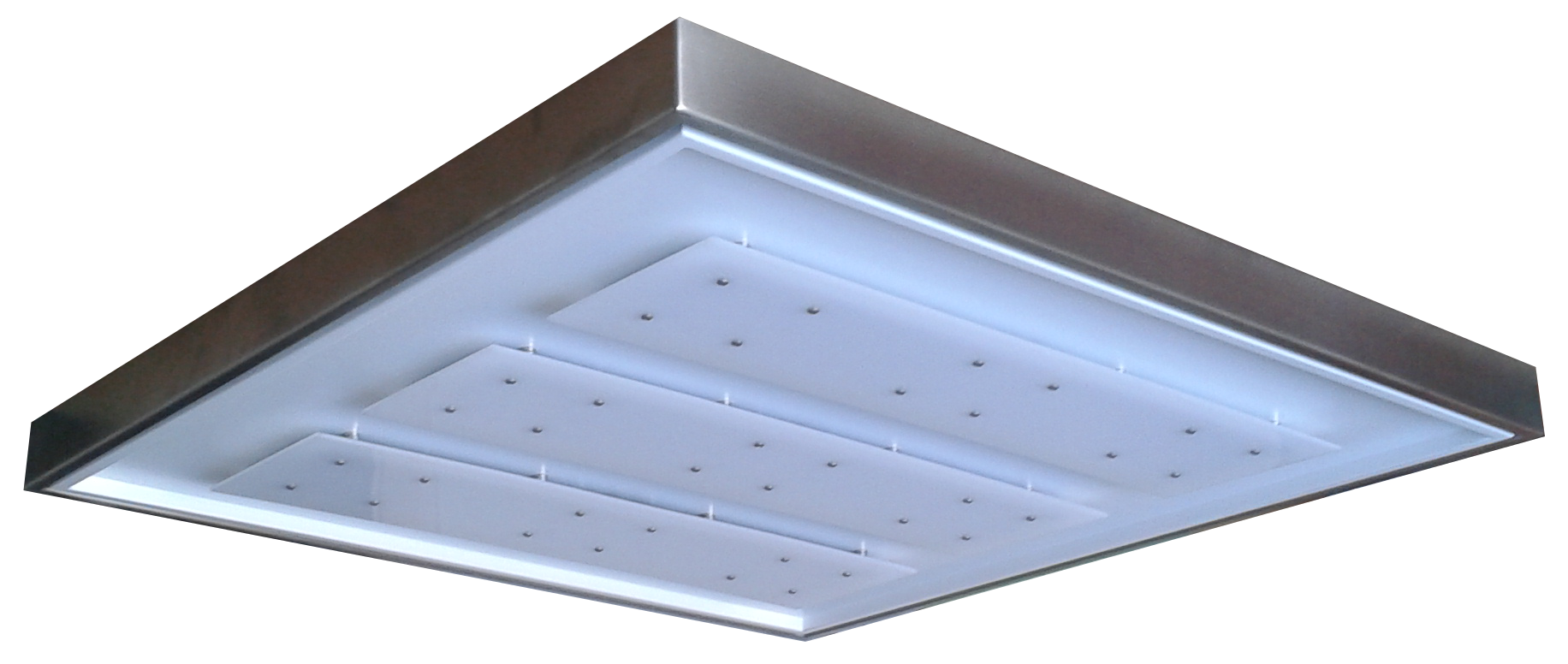 White LED Ceiling 60x60 - ECOLUX SOFFITTO BIANCO