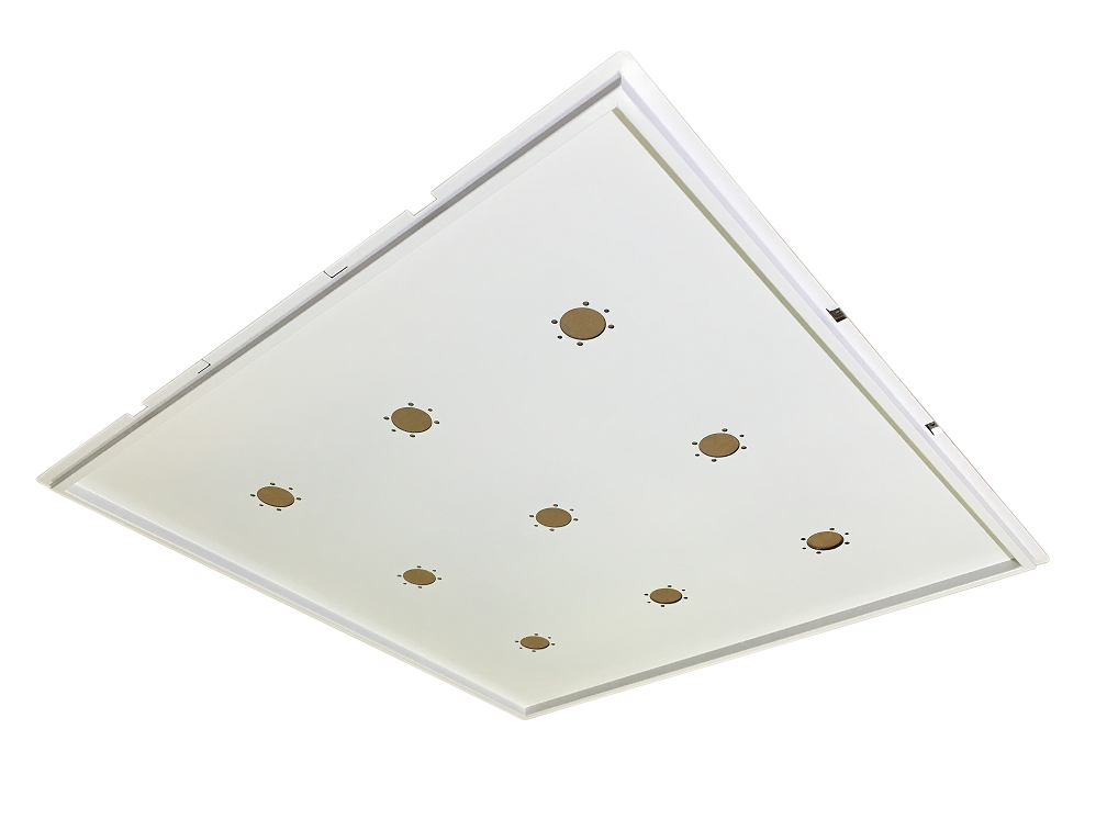 Support for White 60x60 Recessed LED Ceiling - ECOLUX INCASSO BIANCO