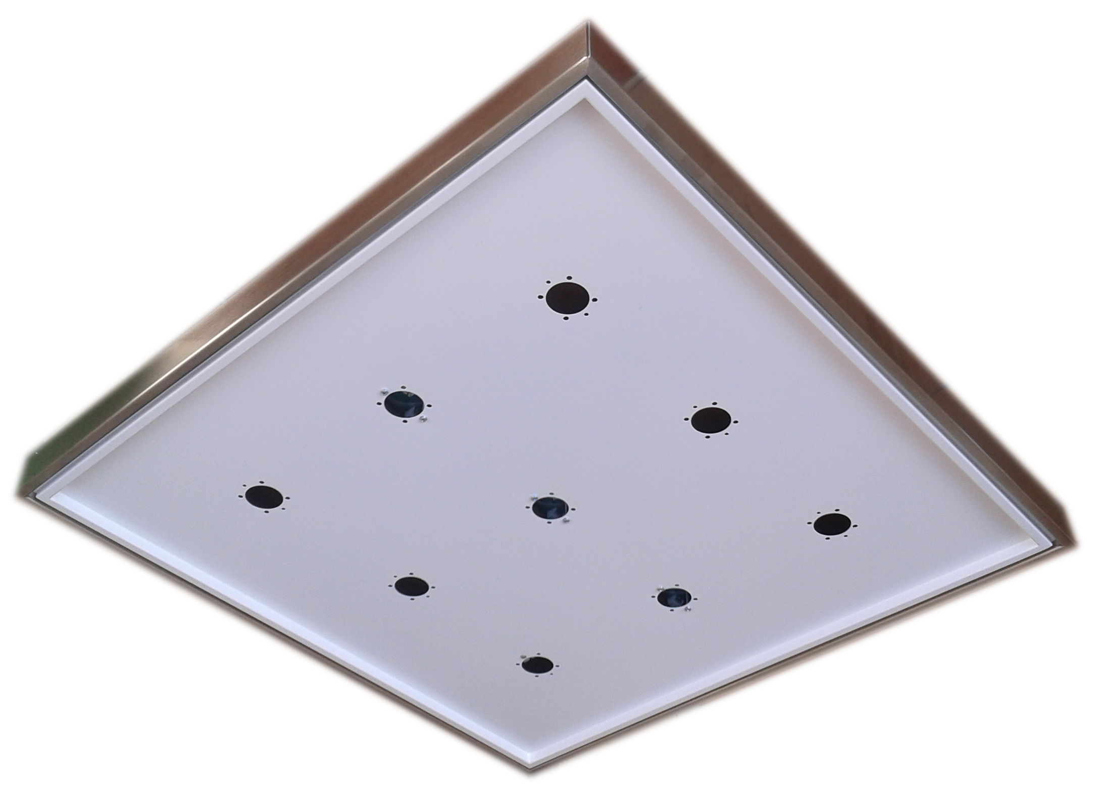 Ceiling Support LED White 60x60 - ECOLUX SOFFITTO BIANCO