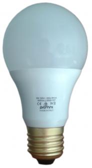 E27 LED Lamp 230V 8W Warm and Cold - LUXINO E27 8W 3000K Image 1